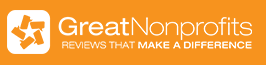 Reviewed on Great Nonprofits